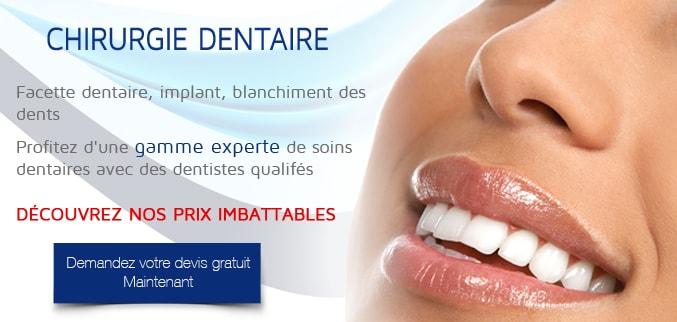 chirurgie dentaire Tunisie